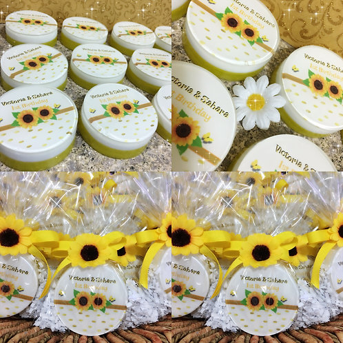 Sunflower Soaps Party Favors