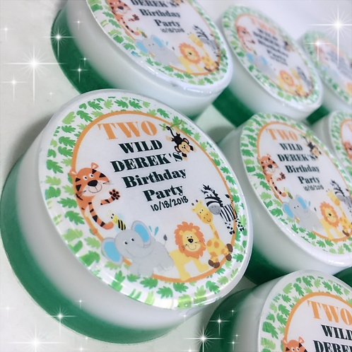 Wild Soaps Party Favors