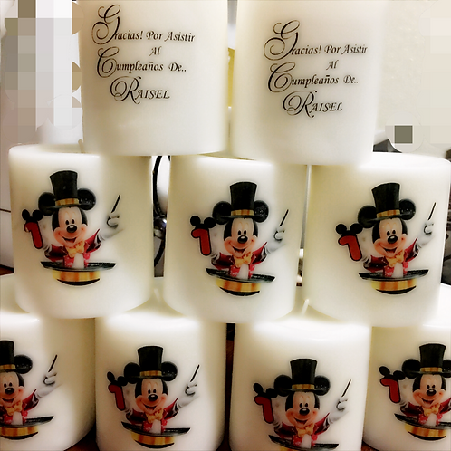 Mickey Mouse Circus .. Candles