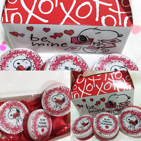 Snoopy Valentines Soap Gift Box