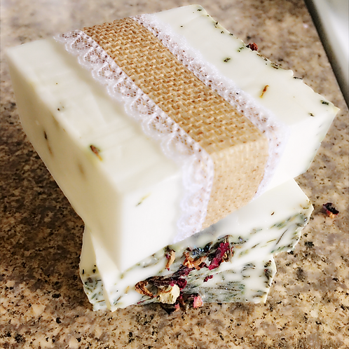 Lavender Vanilla Goat Milk Soap