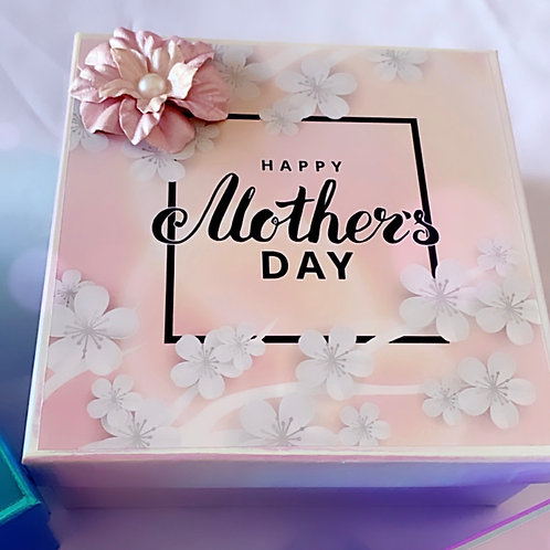White Pearl Mother's Day Box