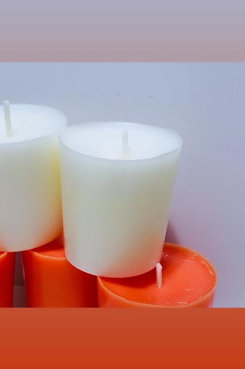 10 votive Candles