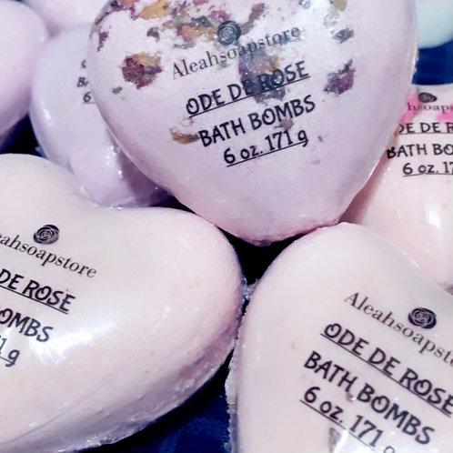 Ode de Rose Bath Bombs