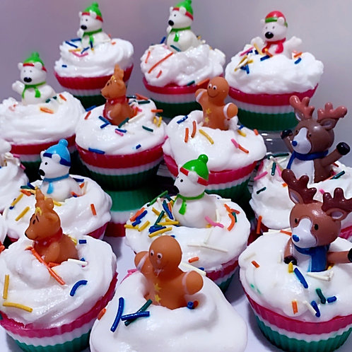 Christmas Toy Soaps Cupcakes