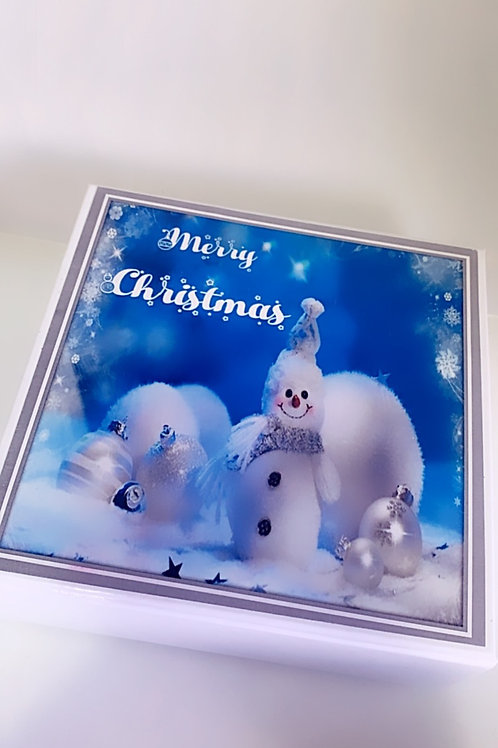 Spa Box Snowman Winterland