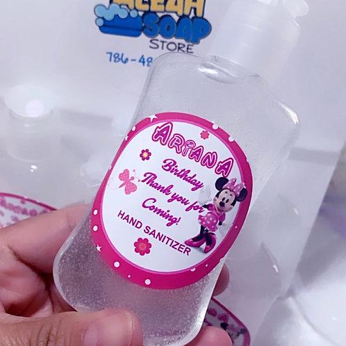 Minnie Mouse Hand Sanitizer Party Favors