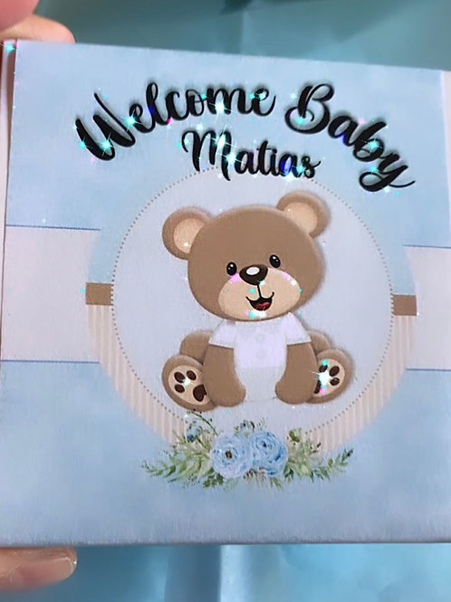 Welcome Baby Box Bear Soap