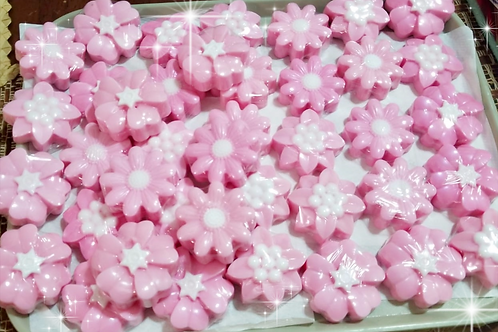 10 Soap Flowers / Wedding/ Quinceañera