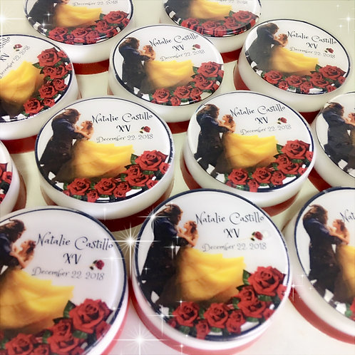 Beauty and the beast Soaps Party Favors