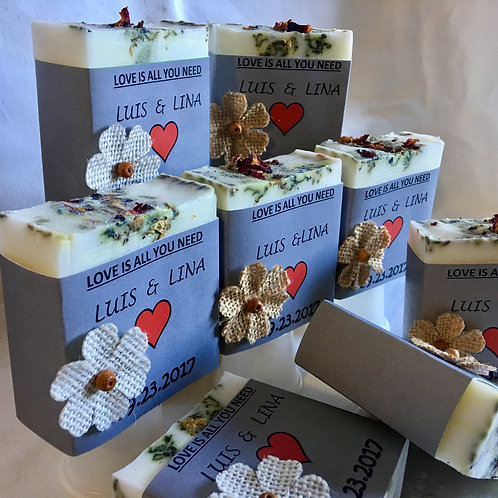 Loaf of Wedding Soaps Party Favors