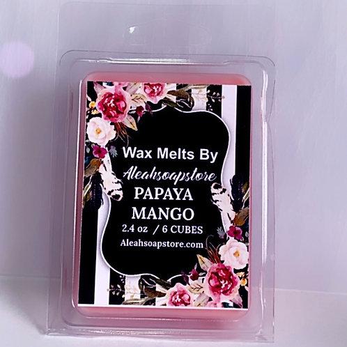 Papaya Mango Wax Melts