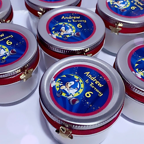 Sonic Crystal Candles