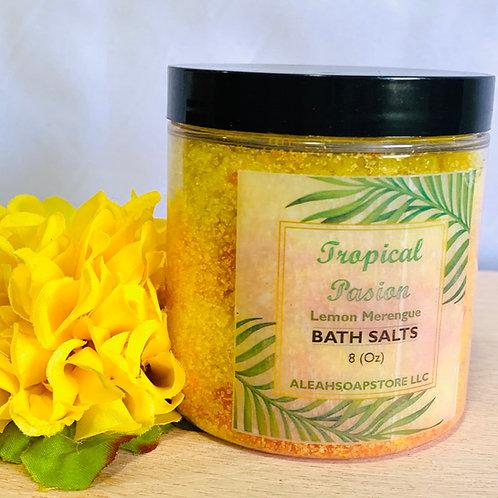 Tropical Passion Bath Salts 8oz