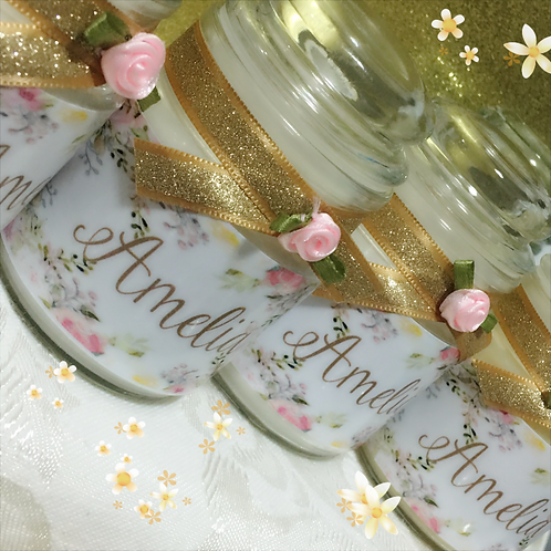 Name Baby Shower Candles