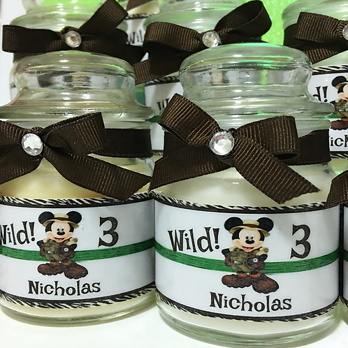 Mickey Mouse Safari Candles