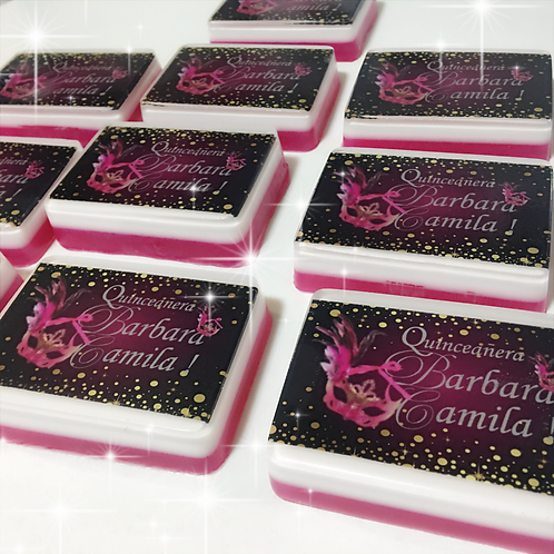 Quinceañera Soasp Party Favors