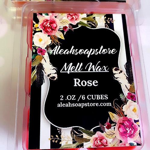Rose Petals Melt Wax