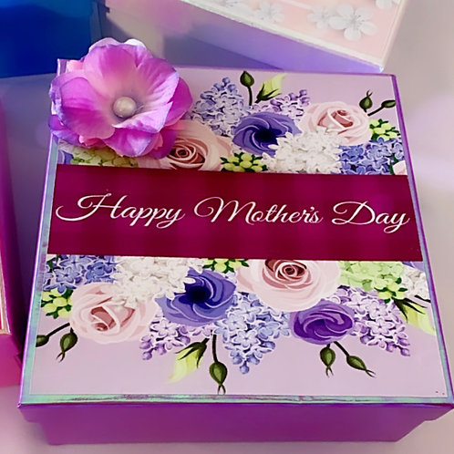 Happy Mother's Day Purple Box