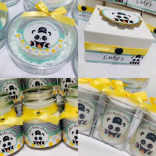 Party Package 48 pieces! Candles and Soaps