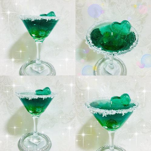 Martini Gel Candle