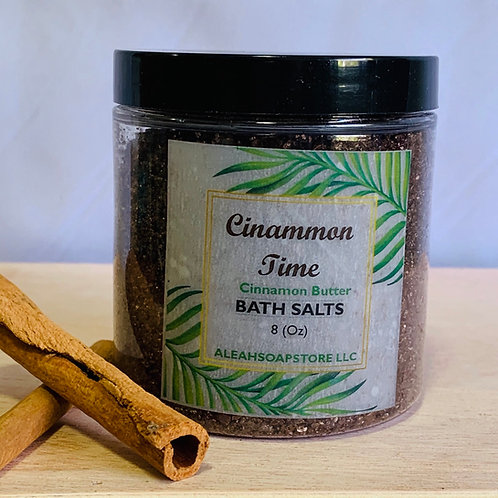 Cinnamon Time Bath Salts 8oz