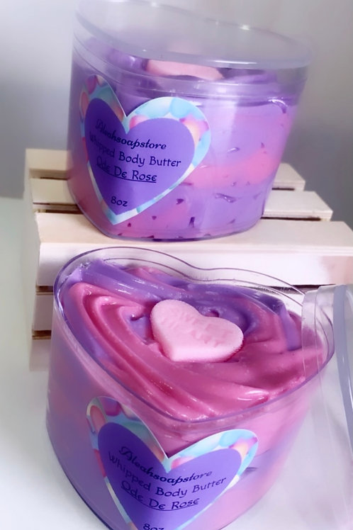Whipped Body Butter Heart Shaped