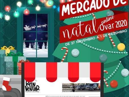 Mercado de Natal online | Ovar 2020