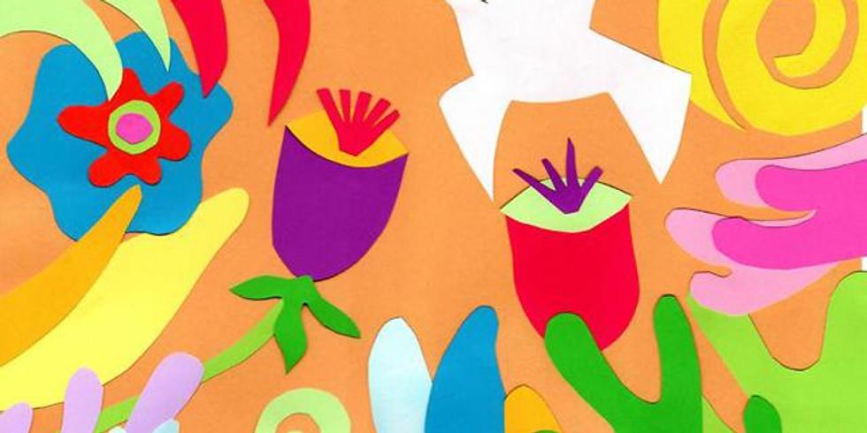 workshop Pintar com tesoura - inspiração Matisse