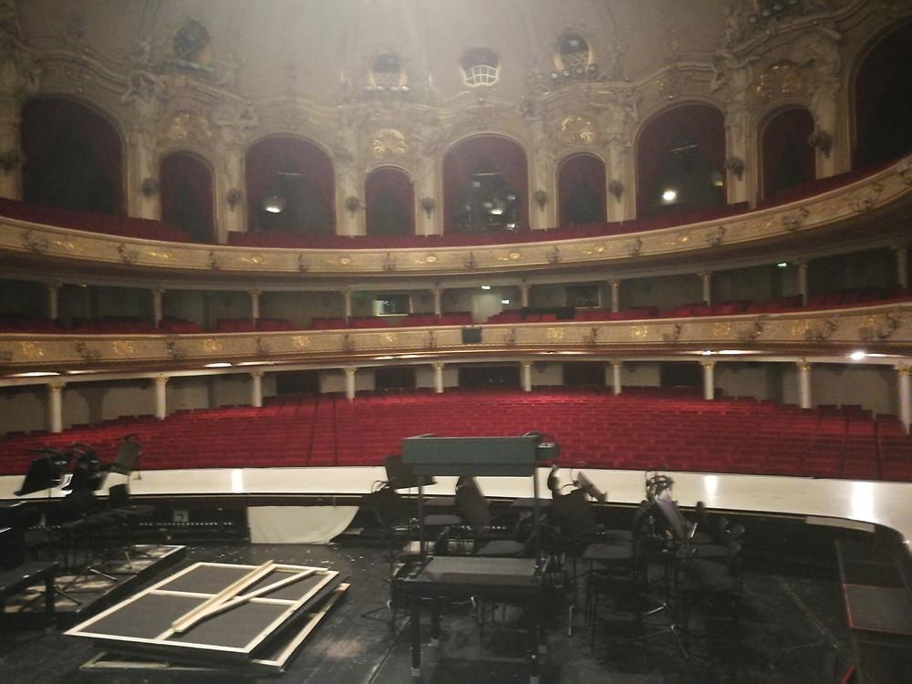 Backstage, Komische Oper, Berlin