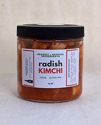 Vegan Radish Kimchi