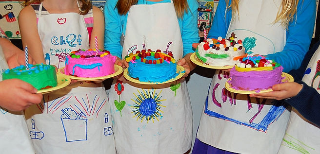 Sprout Chefs birthday party