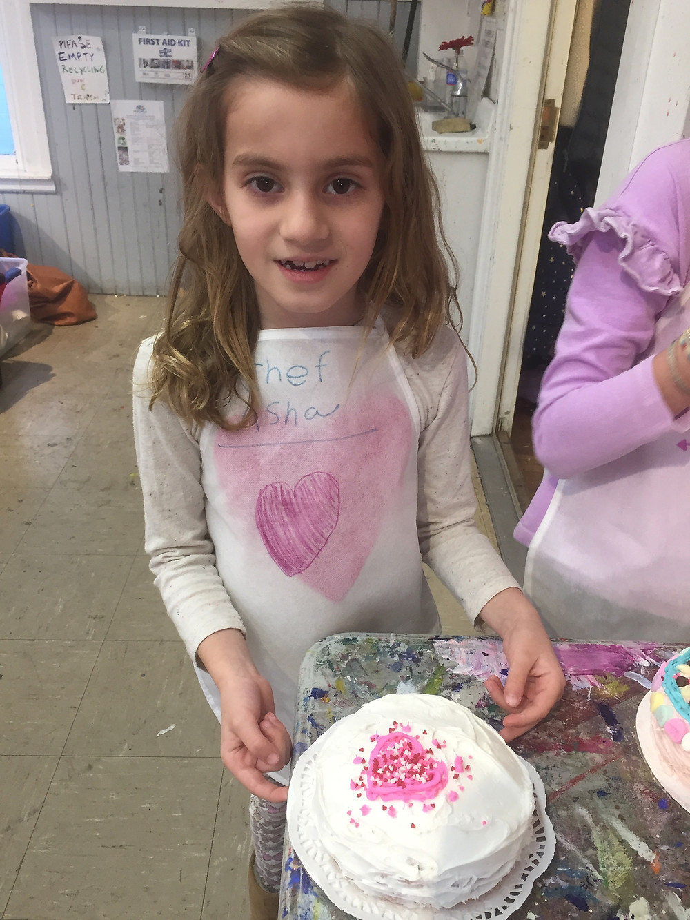 Edible Valentines made by kids