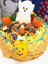 Halloween cake - Sprout Chefs Cooking Class for kids
