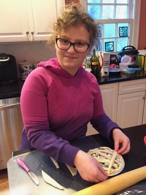 Chef Sophia's masterpiece!
