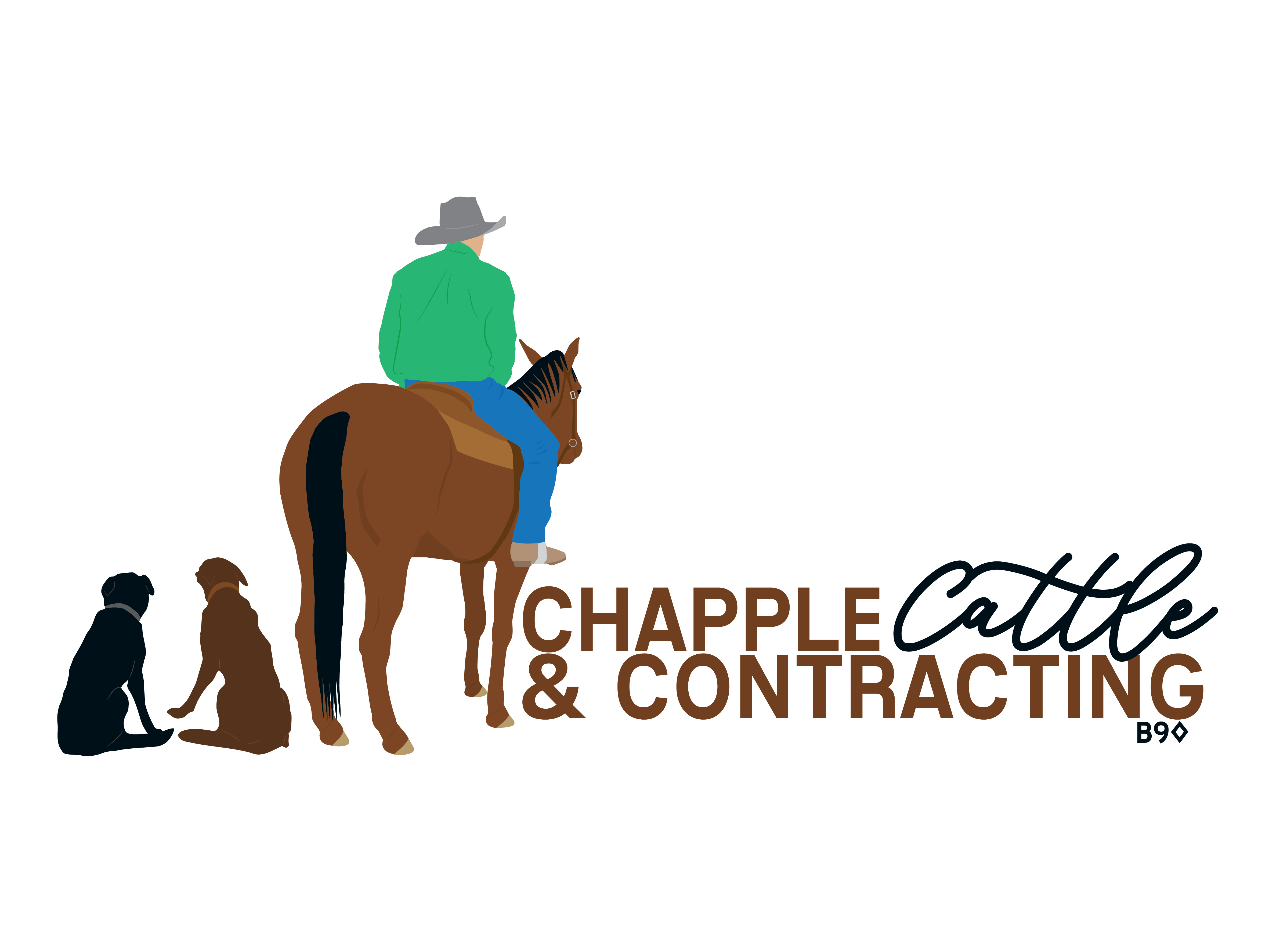 Chapple Cattle & Contracting Logo- Long