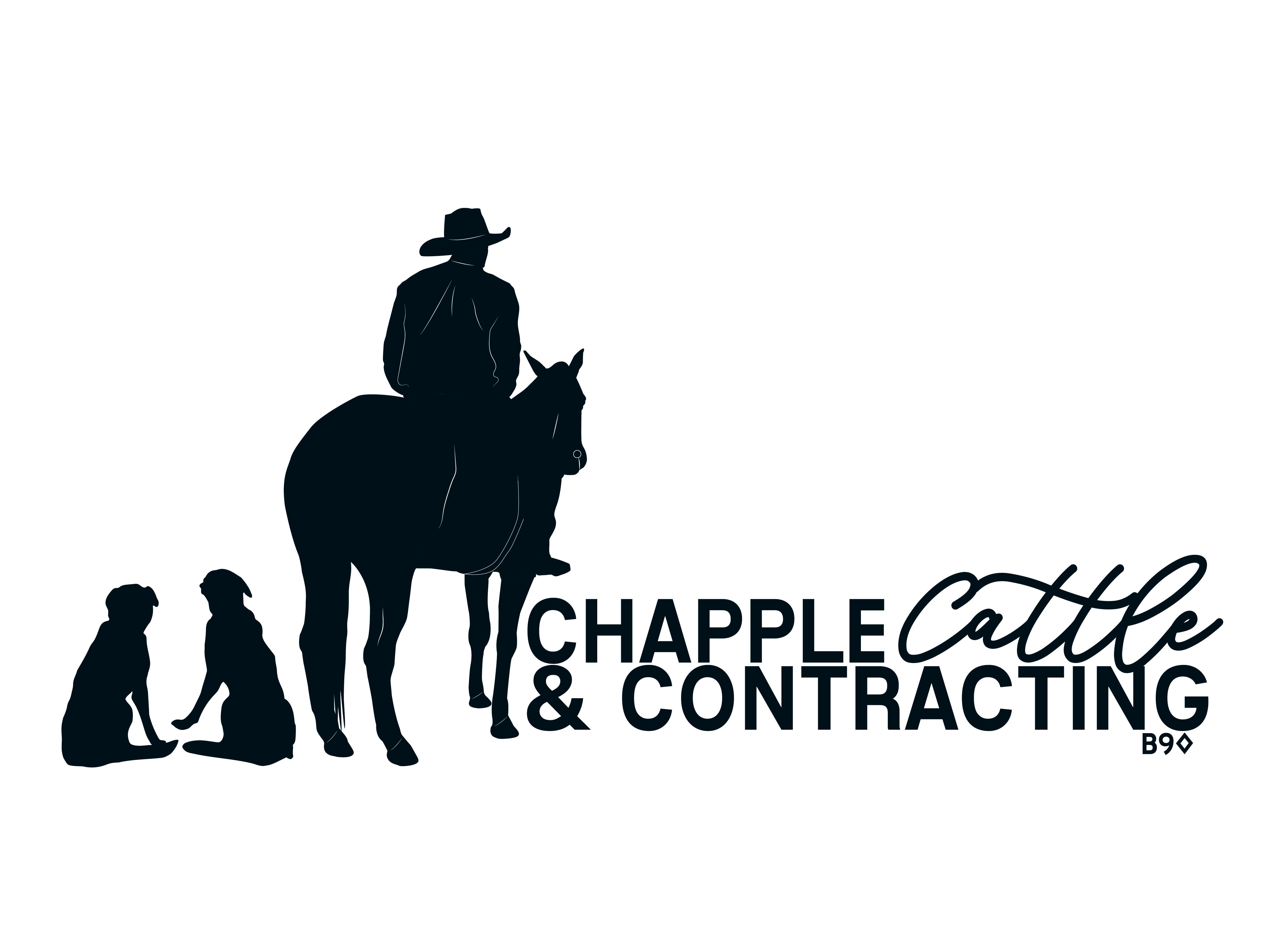 Chapple Cattle & Contracting Logo- Black