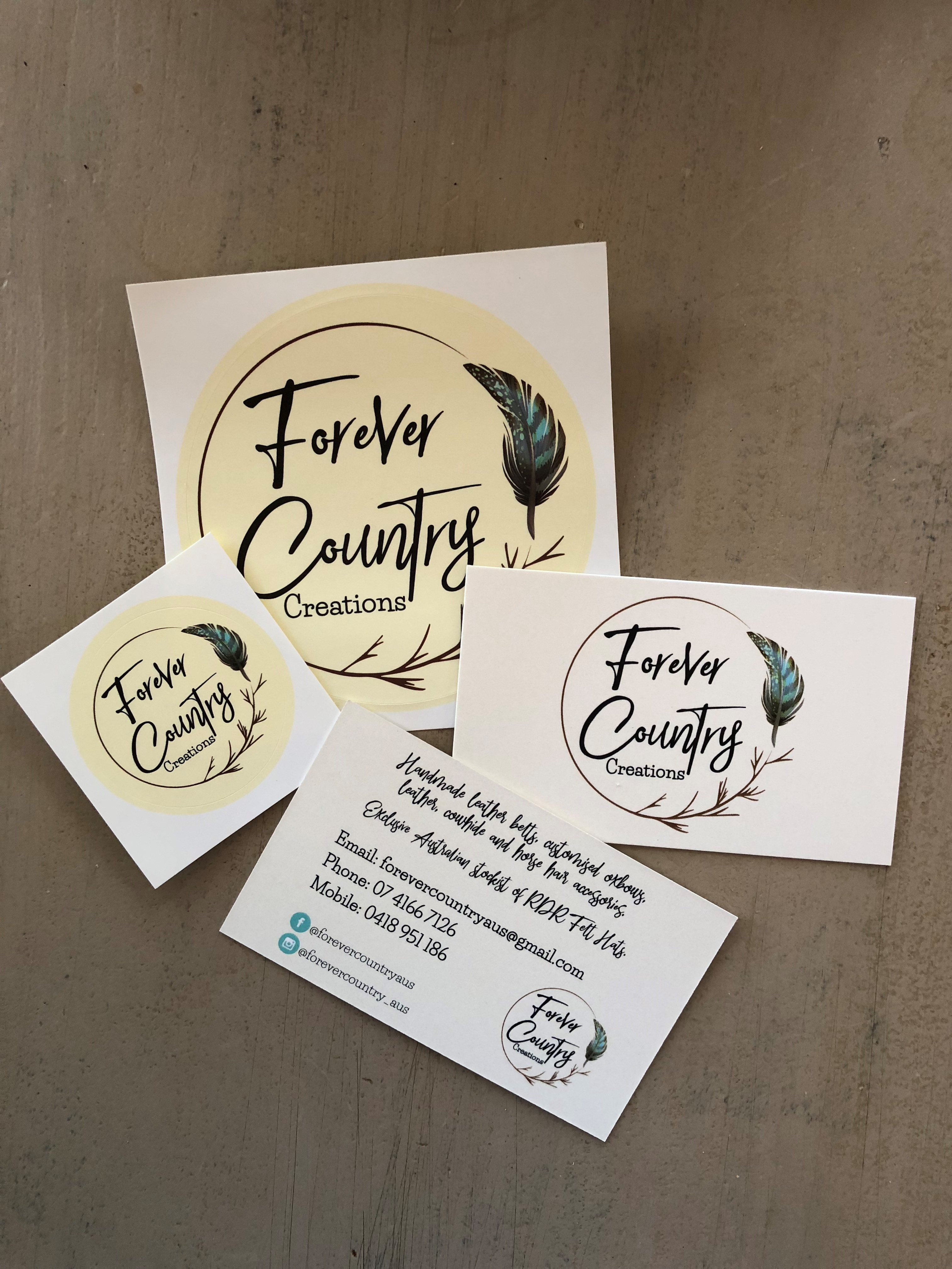 Stickers-business cards