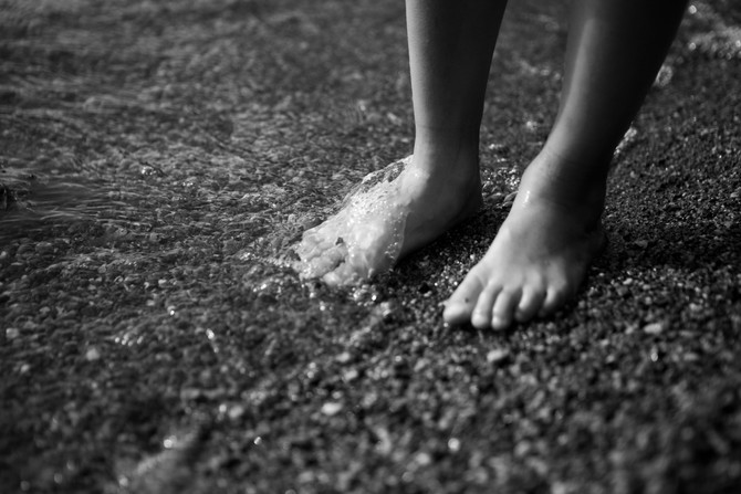 Getting my feet wet