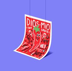 Dios Mio Hot Sauce