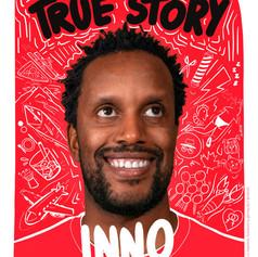 """INNO JP """"True Story"""" Poster"""