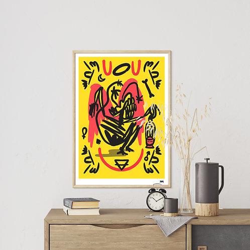 """Reaper"" A2 poster"
