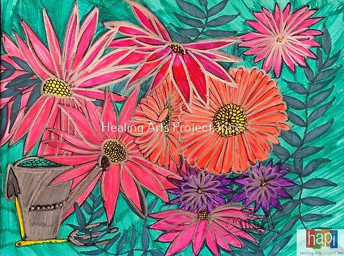 Tending Flowers