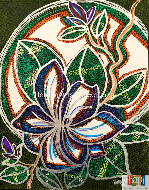 White Flower Glaze