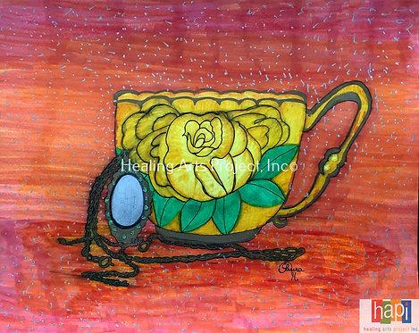 Antique Yellow Rose