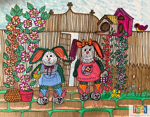 Mr. and Mrs. Bunny