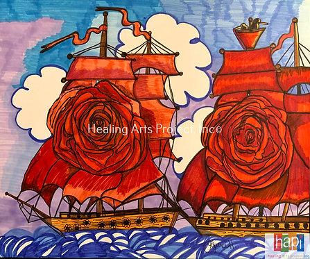 Rose Boat