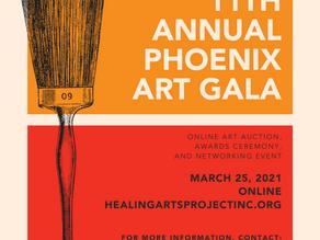 Sponsor the 2021 Phoenix Art Gala