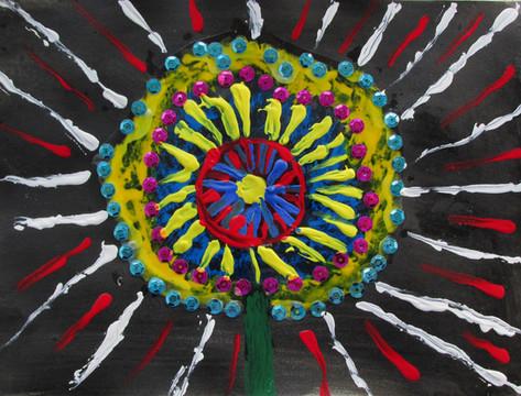 Phoenix Flower by Mark Million