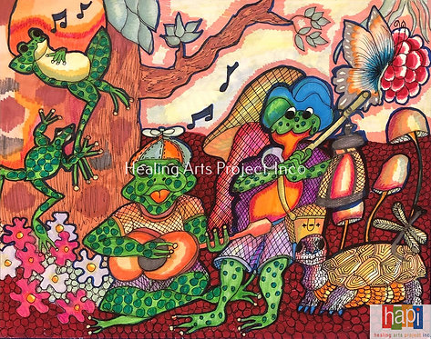 Frog Band 2